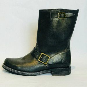Coach X Frye Leather Mid-calf Boots Size  7½ - 8